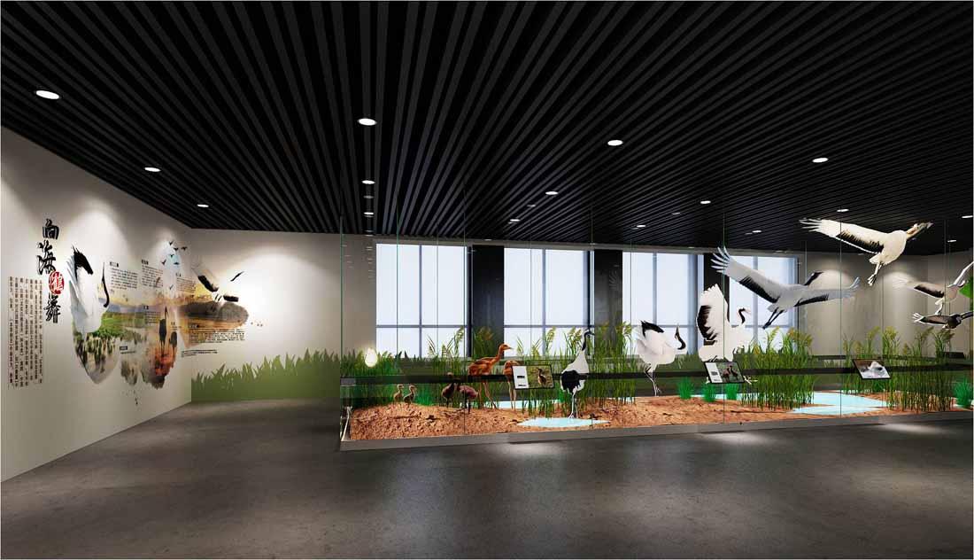 上海闵行区虹梅南路_吉林向海湿地科普馆-科普体验馆-展览工程-创幸展示